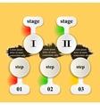 infographics booklet breaks vector image