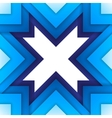 Abstract blue triangle shapes background vector image vector image