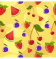 berries background vector image vector image