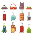 Childish cute bag types for trips collection