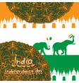 for celebration independence day india vector image vector image