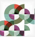 modern circle abstract background vector image vector image