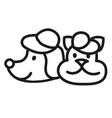 pets logo vector image