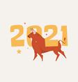 set popular colorful farm animals vector image vector image