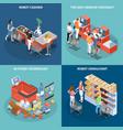Shop technology 2x2 design concept