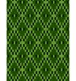 Jacquard ornament texture vector image vector image
