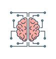 neurology vector image vector image