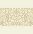 seamless damask pattern golden and ivory image vector image vector image