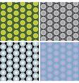Seamless octagon pattern set