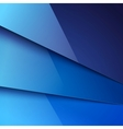 Abstract background with blue metal layers vector image vector image