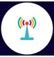 Antenna computer symbol vector image vector image