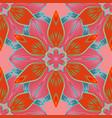 beautiful fabric pattern eps10 cute seamless vector image