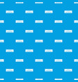 building level pattern seamless blue vector image vector image