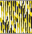 modern black and yellow striped seamless pattern vector image vector image