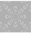 Round embroidery wallpaper vector image