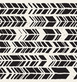 seamless freehand pattern doodle vector image vector image