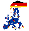 Subsidies from Germany vector image vector image