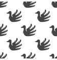 swan seamless pattern vector image