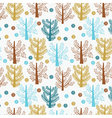 abstract tree wallpaper vector image vector image
