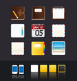 Apps icon set vector | Price: 3 Credits (USD $3)