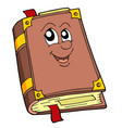 cute old book vector image vector image