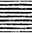 irregular black striped pattern seamless hand vector image vector image