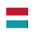large shipping containers vector image vector image