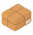 packaging box icon isometric style vector image