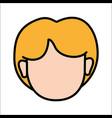 People avatar face women icon