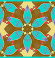 seamless flower pattern can be used for vector image vector image