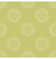 Seamless pattern of cream leaves or hearts vector image