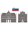 Slovenia vector image vector image