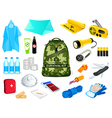 survival kit vector image vector image
