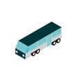 transport luxury bus vehicle isometric icon vector image