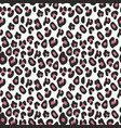 decorative seamless pattern imitation leopard vector image