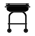 grill cook cartoon vector image