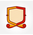 blazon design emblem vector image