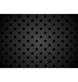 Black stars abstract background vector image vector image