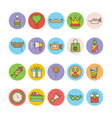 Celebration and Party Icons 5 vector image vector image