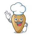 chef amphora character cartoon style vector image