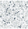 digital background triangles vector image