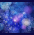 festive background with defocused lights vector image vector image