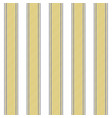 gold stripes elegant seamless pattern vector image vector image