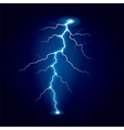 lightning isolated vector image vector image