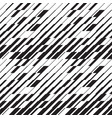simple dynamic lines seamless pattern vector image vector image