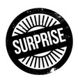 surprise rubber stamp vector image vector image