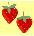 texture strawberry vector image