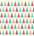 winter holidays seamless pattern with christmas vector image vector image