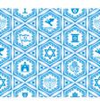 israel design seamless vector image