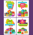 special promotion best choice vector image